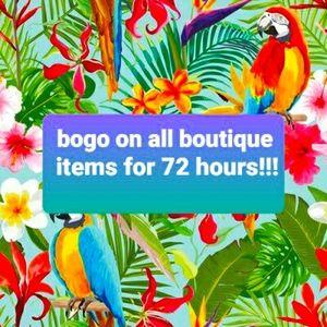 Tops - Bogo on boutique  tshirts